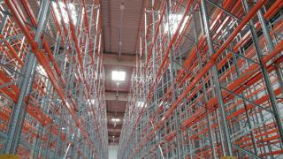 Racking system working aisle