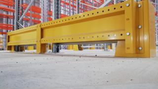 Pallet racks protector - storage system for pallets