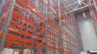 Racks for pallets