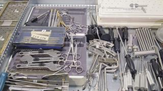 Storage of medical tools and instruments