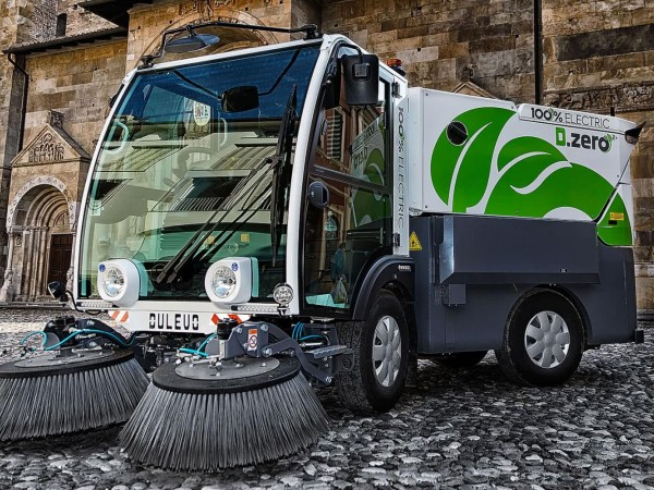 Electric street sweeper DULEVO D.ZERO2 9