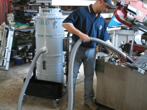 Industrial vacuum cleaner for oils RGS ONE72-73 SUBOIL 1