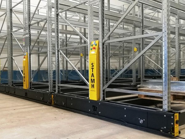 Mobile racking system 34