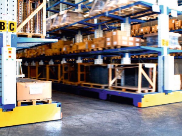 Mobile racking system 23