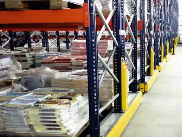 Mobile racking system 27