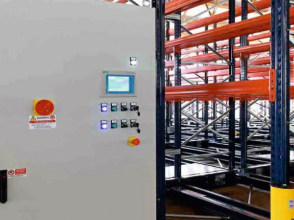 Mobile racking system 28