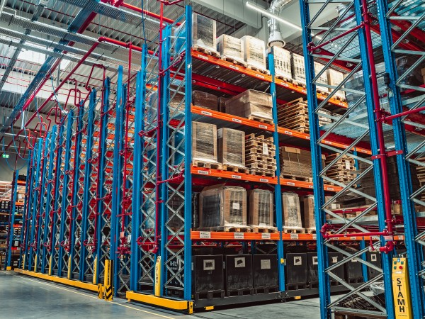 Mobile racking system 14