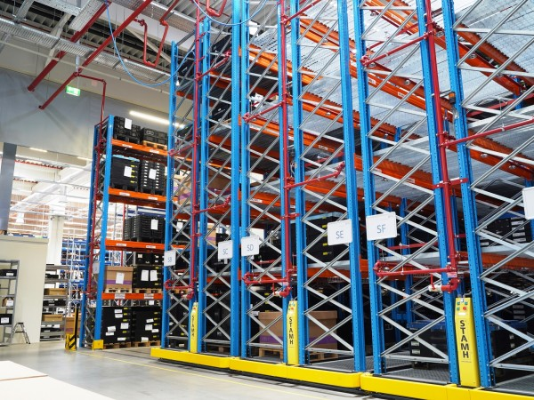 Mobile racking system 15
