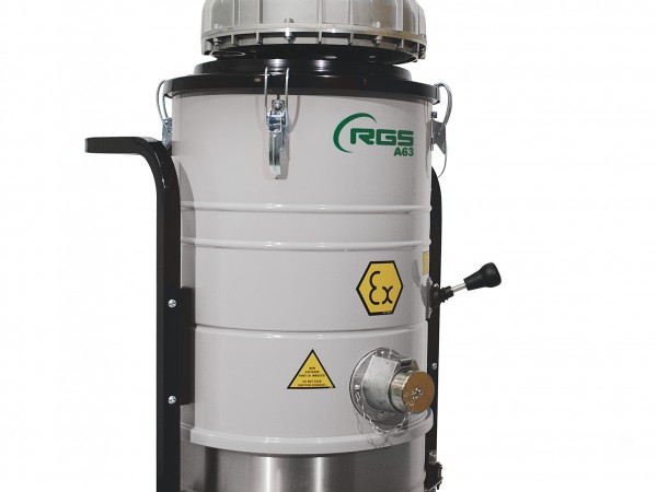 Three phase industrial vacuum cleaner RGS A63 A64 A65 A103 1