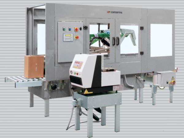 Semi-automatic case sealer COMARME HM F470 HOT MELT_1