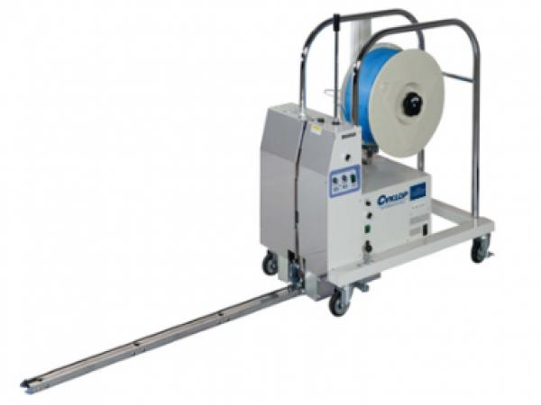 Mobile pallet strapping CYKLOP M-PAC PLT 1