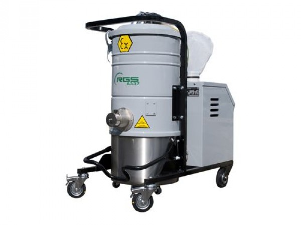 Industrial vacuum cleaner for aspiration RGS A337M 1