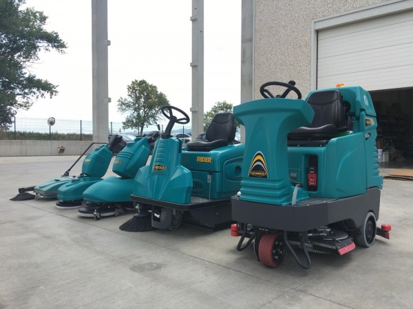 Rental of cleaning machines 1