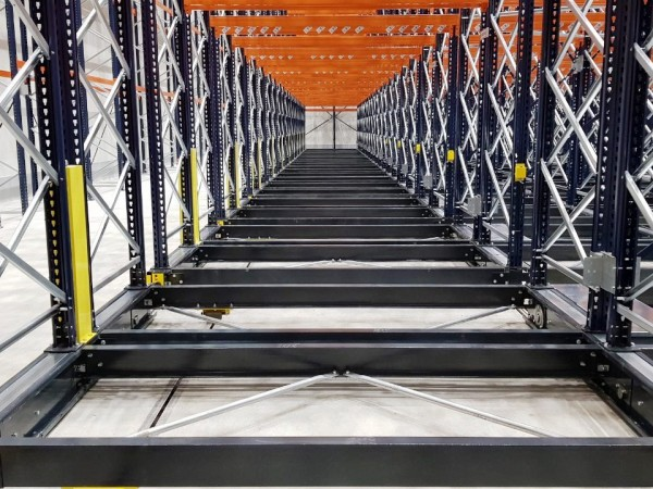 Mobile racking system 21