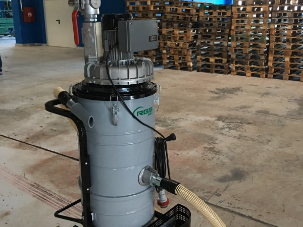 Industrial vacuum cleaner RGS A21M A22M A63M 8