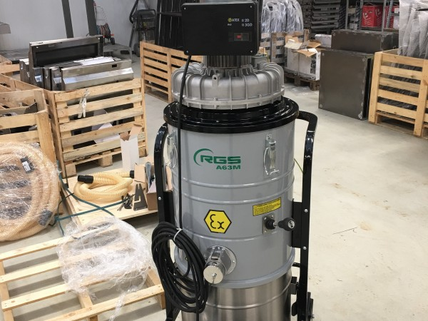 Industrial vacuum cleaner RGS A21M A22M A63M 9