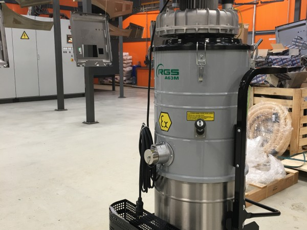 Industrial vacuum cleaner RGS A21M A22M A63M 10