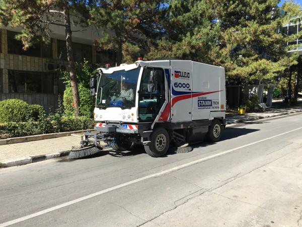 Diesel/CNG road sweeper DULEVO 6000 1