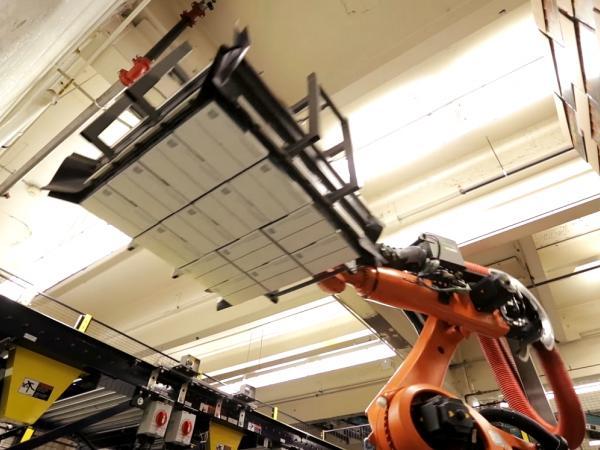 Industrial palletizer