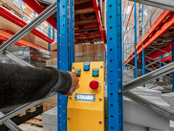 Mobile Racking System from STAMH Group - mobile bases