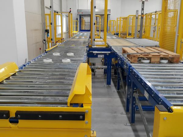Conveyor systems for pallets 1