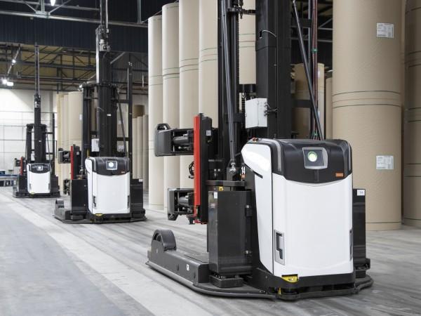 Роботизирана система за транспорт AGV