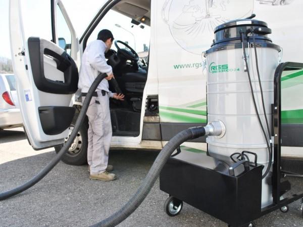 Battery industrial vacuum cleaners RGS 3