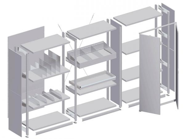 Racking and shelving systems 7