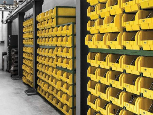 Racking and shelving systems 10
