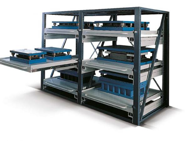 Racking and shelving systems 1
