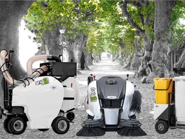 Electric street sweeper TSM ITALA 135 2