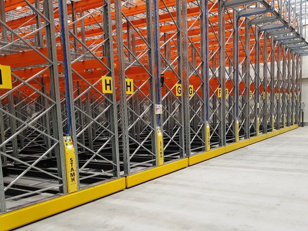 Mobile racking system 2