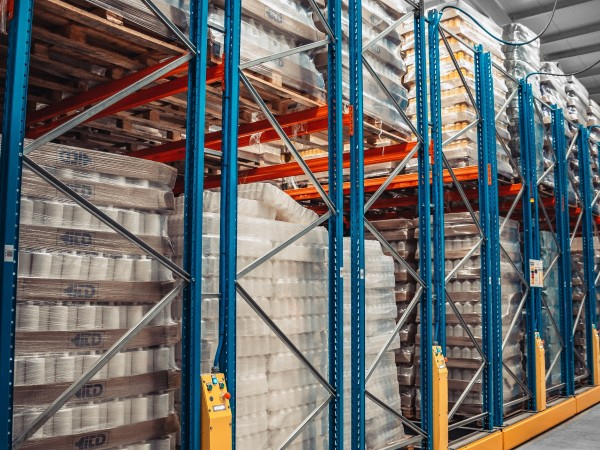 Mobile racking system 13