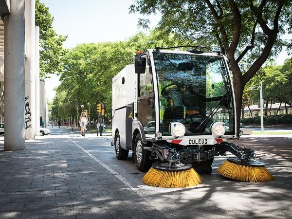 Electric street sweeper DULEVO D.ZERO2 3