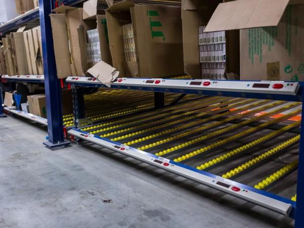 Carton Flow storage system 10