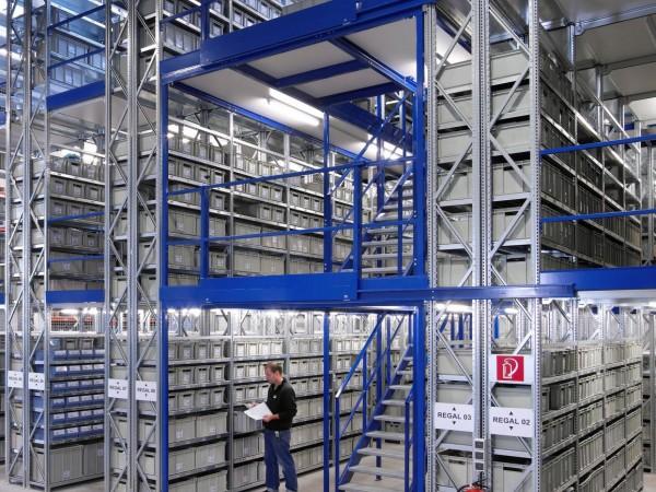 Gangway storage system 3