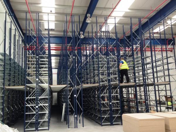 Gangway storage system 4