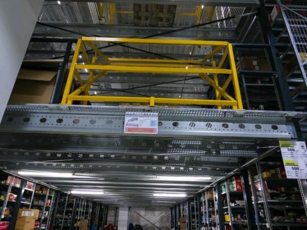 Gangway storage system 10