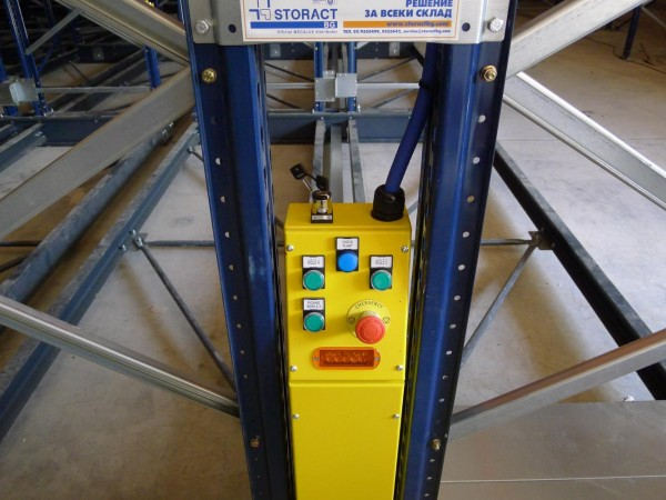 Mobile racking system 12