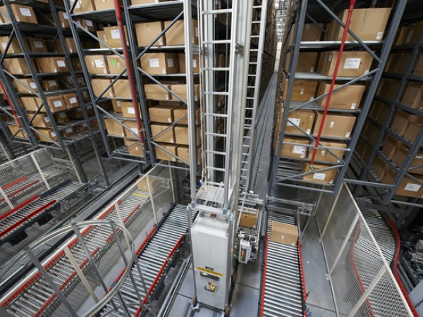 Automated storage system for boxes 3