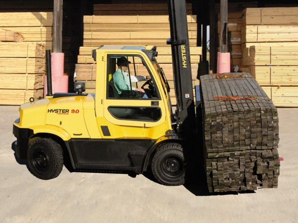 Diesel and LPG forklift trucks Hyster H8.0-9.0FT 1