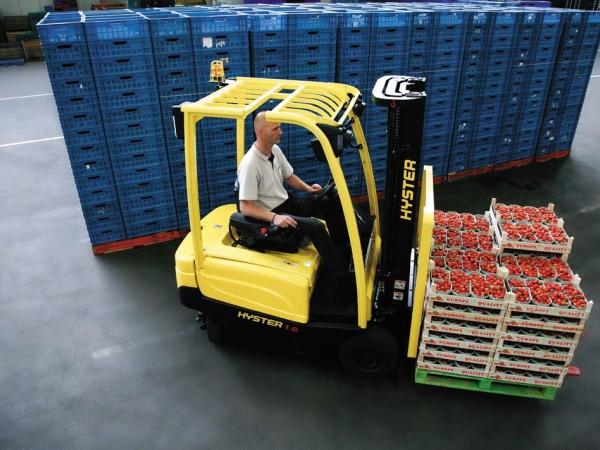 4 wheel electric trucks Hyster J1.6-2.0XN 8