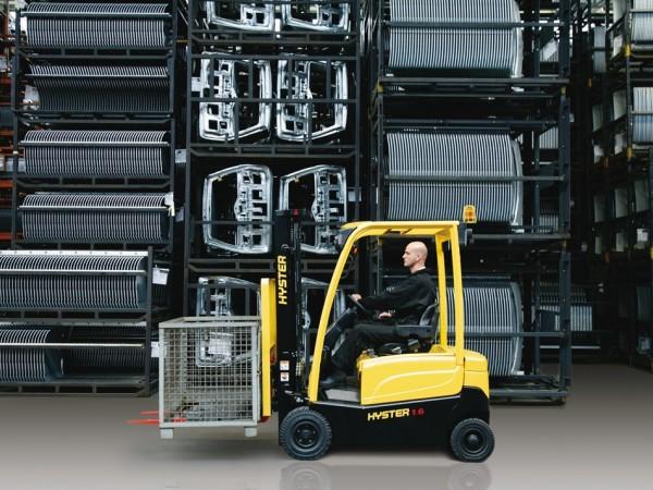 4 wheel electric trucks Hyster J1.6-2.0XN 9