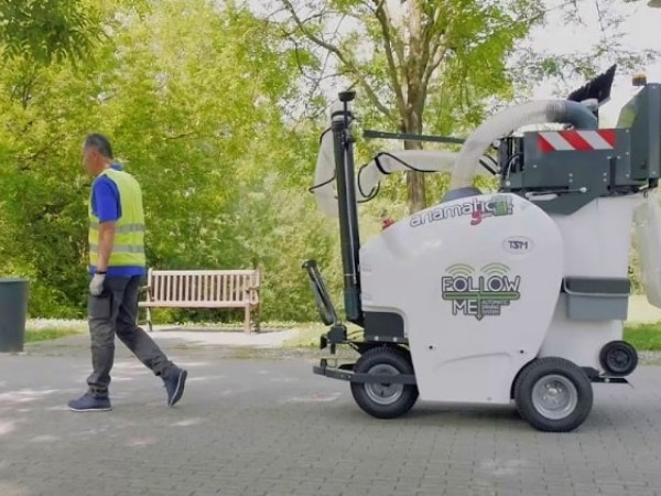Electric urban vacuum machine TSM ARIA 5